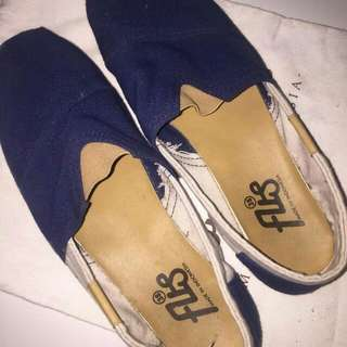 Handmade Espadrille Shoes navy