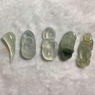 Top quality icy jadeite