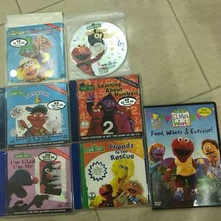 sesame street vcd and dvd