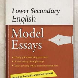 EL model essays guide book for Lower sec