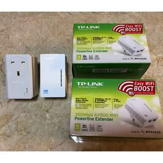 TP-Link Powerline Adapter (x1) and Extender (x3)