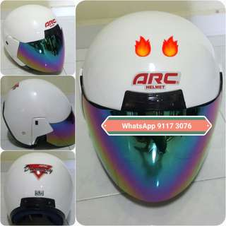 2301***ARC Discovery Helmet For Sale 😁😁Thanks To All My Buyer Support 🐇🐇 Yamaha, Honda, Suzuki