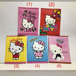 Hello Kitty Notebooks (brand new)