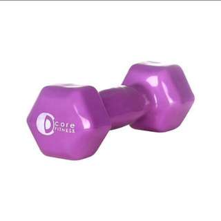 Core Fitness Vinyl 4lb Weights (Pair)