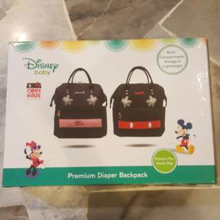 Disney Baby Coby Haus Premium Diaper Backpack