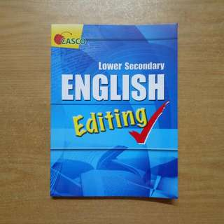 Lower Secondary English Editing √