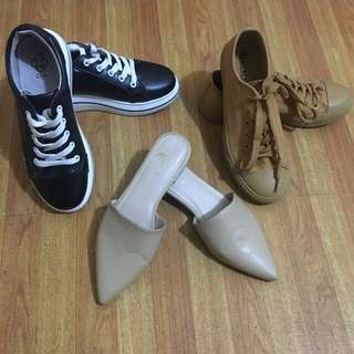 Preloved Shoes 3 for only 1,200 !!