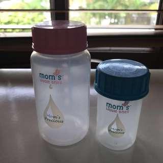 Mom's little ones Breastmilk storage bottles brand new