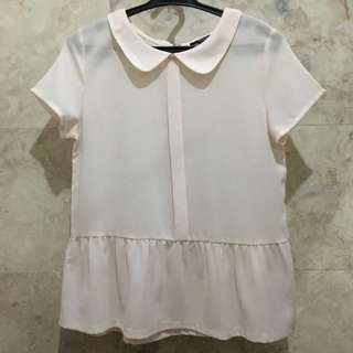 Pink Forever 21 Preppy top