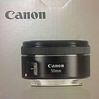 CANON EF Canon 50mm f/1.8 STM   17/04購買 保固內