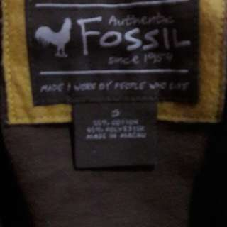 Authentic Limited Edition Fossil Jacket( Barcelona )