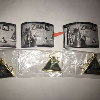 Legend of Zelda Triforce Metal Keychains