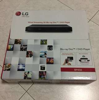 LG Blu-ray Disc/DVD Player