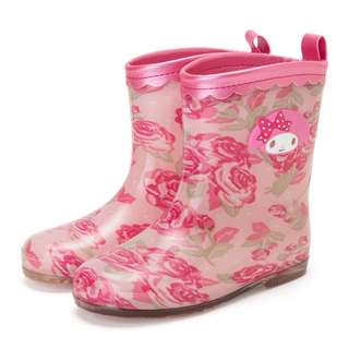 Japan Sanrio My Melody Kids Rubber Boots (Rose)
