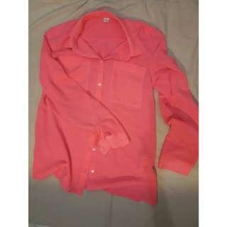 Neon Pink Shirt