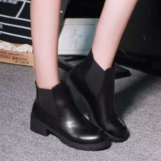 Ladies Casual Winter Slip On Zipped Ankle Boots