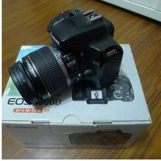 【出售】Canon 1000D  數位單眼相機