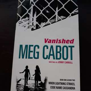 Vanished Book 1 and 2 by Meg Cabot