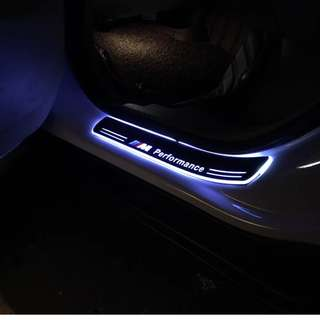 BMW - X3 Animated LED Door Scuff Plates