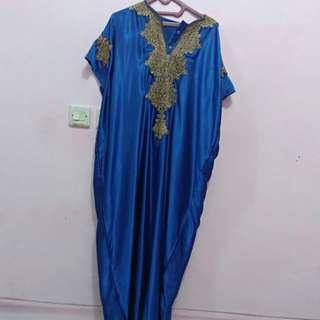 Kaftan Blue size L