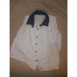 White Flare Shirt