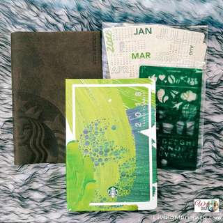 SEALED 2018 Starbucks Planner Large