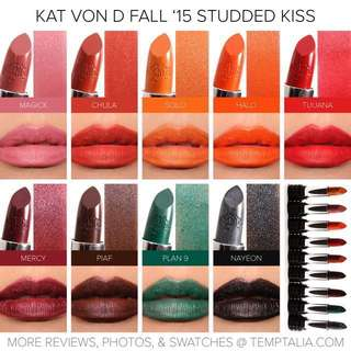 Kat Von D Studded Kiss Lipstick BN AUTHENTIC
