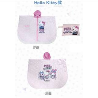 🚚 Hello Kitty斗篷雨衣