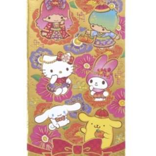 2018 Sanrio characters Chinese new year red packets