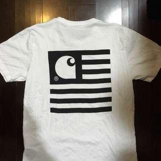 Carhartt WIP 大logo 短袖上衣 T恤
