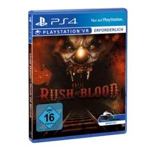 收收收:4隻PS4(惡靈7,rush of blood,三國7加強,骰動人生)
