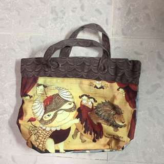 Carrie Chau Two ways tote bag