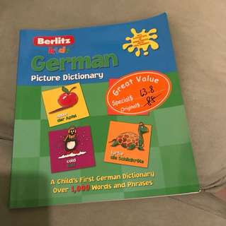 Kids German Picture Dictionary