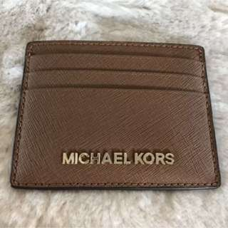 New Michael Kors Leather Card holder