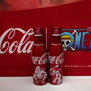 Coca Cola海賊王可口可樂紀念鋁瓶