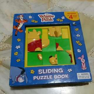 Winnie The Pooh Sliding Puzzle Book