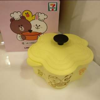 7-11 Line Friends Le Creuset 熊大 盒
