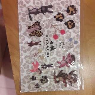 COACH x GARY BASEMAN sticker - New