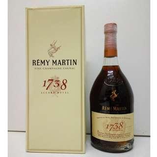 Cognac 干邑 Remy Martin 1738