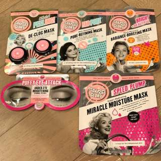Soap & Glory Masks Bundle