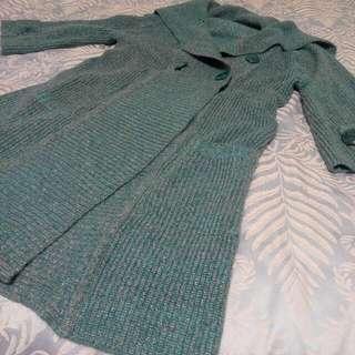 毛衣外套, 長版 (到大腿)