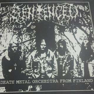 """Sentenced–Death Metal Orchestra From Finland - 3 x 10"""" Vinyl Record, 3 x Cassette Tapes Box Set"""