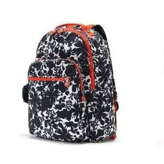Kipling Blue Flower Print Bag