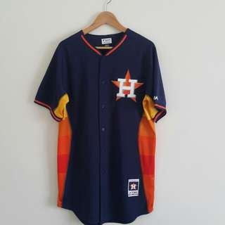 Houston astros baseball jersey