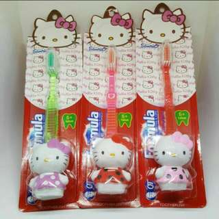 Toddler Hello Kitty toothbrush