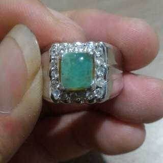 Cincin zamrud/emerald zambia