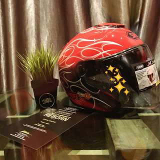 Helmet Shoei REBORN red limited edition (malaysia set)