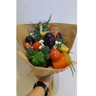 (PO) Assorted Vegetable Bouquet