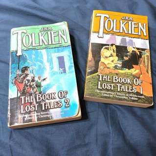 Book of Lost Tales 1 & 2 by J R R Tolkien