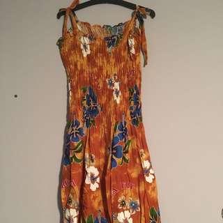 Floral print Fiji maxi dresses